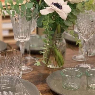Anora Share Food havde Norbords plankeborde med på Bryllupsmessen 2019 i Forum