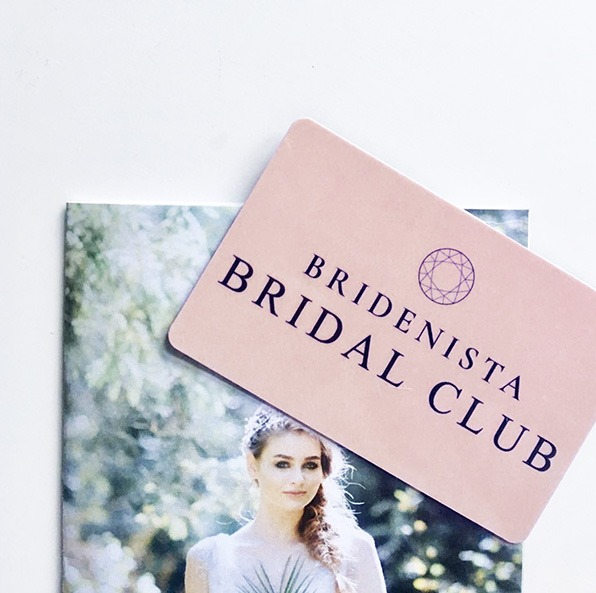 Bridenista Bridal Club medlemskort - Norbord er partnerbutik